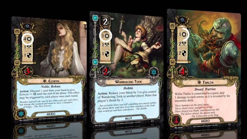 lords-of-the-rings-android-iphone-jogo-cartas The Lords of the Rings Living Card Game será lançado para Android e iOS