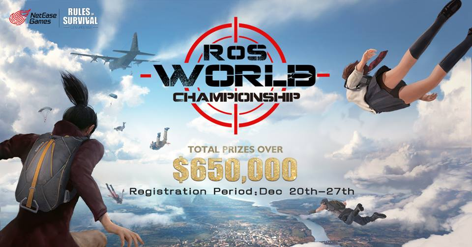 rules-of-survival-campeonato-mundial Campeonato Mundial de Rules of Survival terá premiação de 650 mil dólares