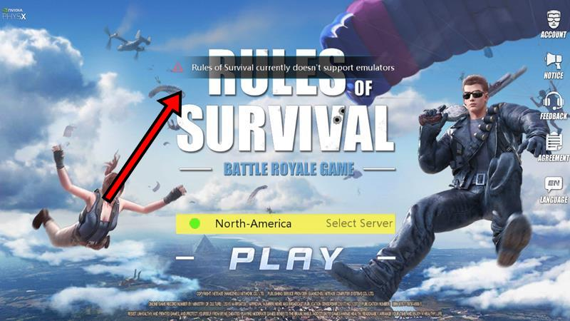 Tutorial: Como jogar Rules of Survival no PC