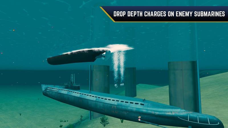 Enemy-Waters-Submarino-vs-Warship 25 Melhores Jogos Grátis OFFLINE para Android 2018 (#6)