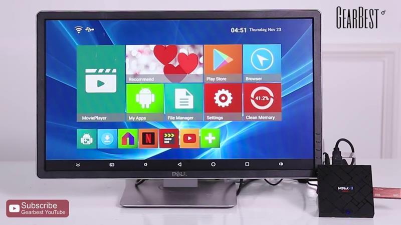 M96X-MINI-II As Melhores Android TV Box para Comprar 2018