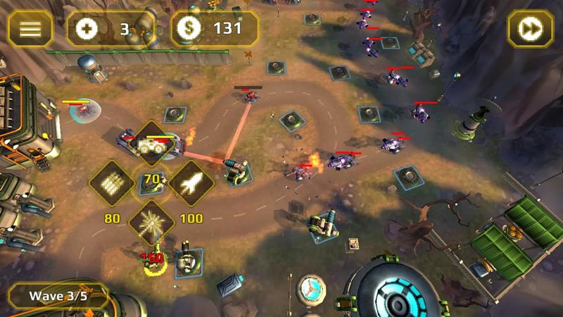 Tower-Defense-Generals-td 25 Melhores Jogos Grátis OFFLINE para Android 2018 (#6)