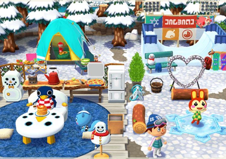 animal-crossing-android-iphone-winter Esportes de Inverno chegaram em Animal Crossing: Pocket Camp