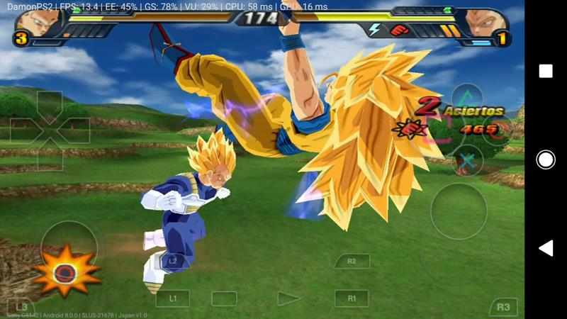 damonps2-pro-dragon-ball-z-Budokai-Tenkaichi-3-android Emulador do Playstation 2 retorna a Google Play