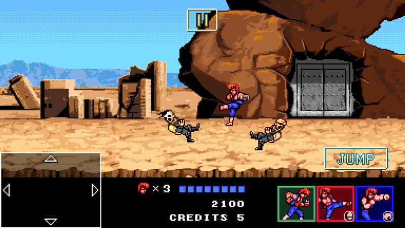 double-dragon-4-android-iphone Double Dragon 4 chega de graça (para testar) nos smartphones