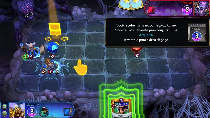 "hero-academy-2-2 Hero Academy 2 mistura tabuleiro e ""Hearthstone"" (Android e iOS)"