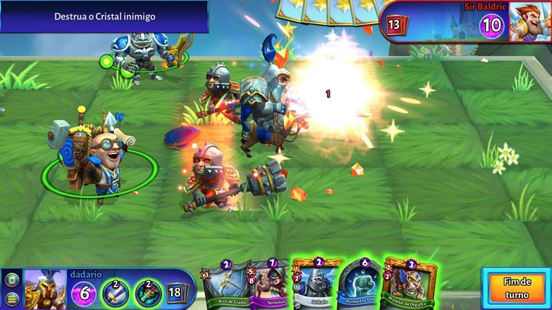 "hero-academy-2-4 Hero Academy 2 mistura tabuleiro e ""Hearthstone"" (Android e iOS)"