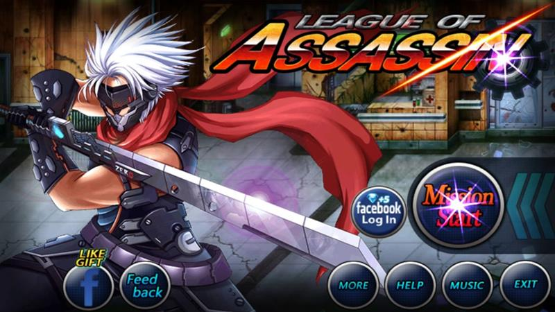 league-of-assassin-android-iphone League of Assassin: jogo OFFLINE de ação para Android e iOS