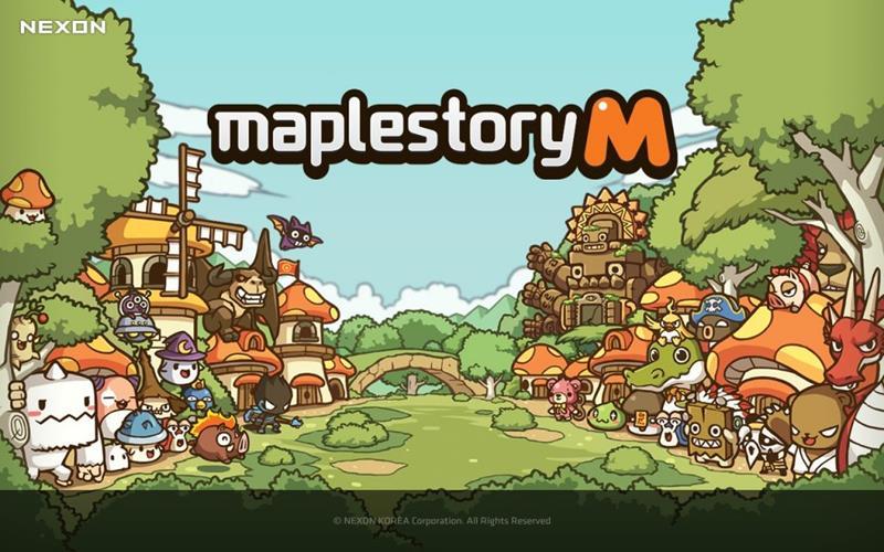 maplestory-m-android MapleStory M chega de surpresa em beta aberto no Android
