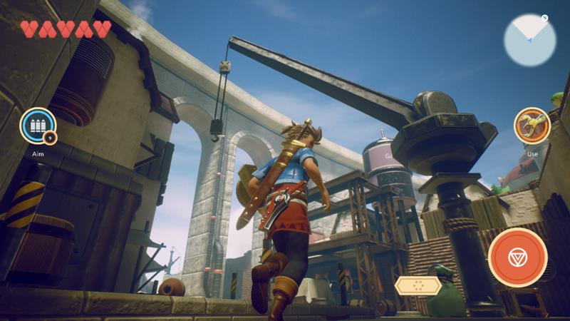 oceanhorn-2-iphone-android-1 Novas imagens incríveis de Oceanhorn 2: Knights of the Lost Realm