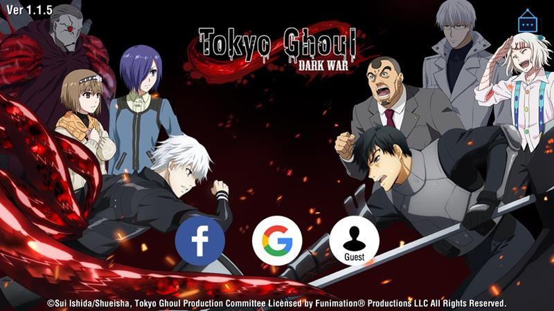 Tokyo Ghoul Dark War é lançado em inglês! Baixe o APK!