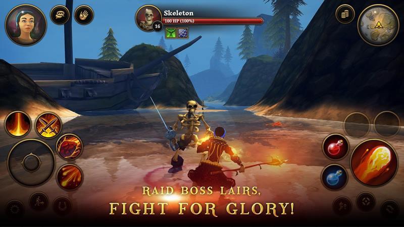 3d-mmo-Villagers-Heroes Villagers & Heroes: jogo faz sucesso por não ser automático