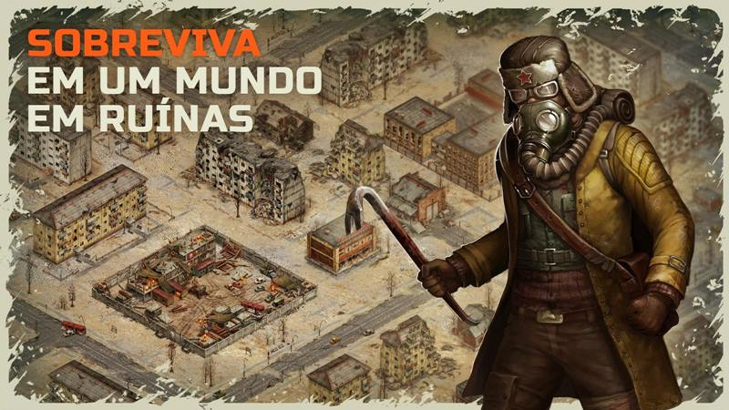 Day-r-Survival-android-iphone Day R Survival é um RPG pós-apocalíptico para Android e iOS