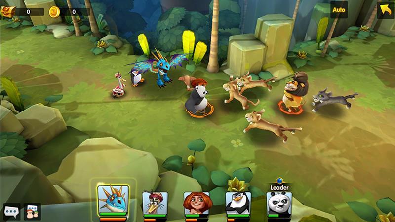 DreamWorks-Universe-of-Legends-screenshot 25 Melhores Jogos Grátis para iPhone e iPad de 2017 - Parte 2