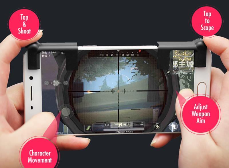 L1R1-controle-sharpshooter-android-iphone-2 Como fazer controle L e R no seu celular usando papel alumínio