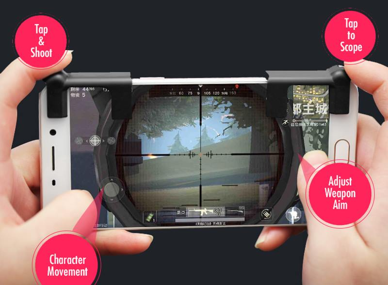 L1R1-controle-sharpshooter-android-iphone-2 Controle Sharpshooter adiciona L1 e R1 ao seu smartphone