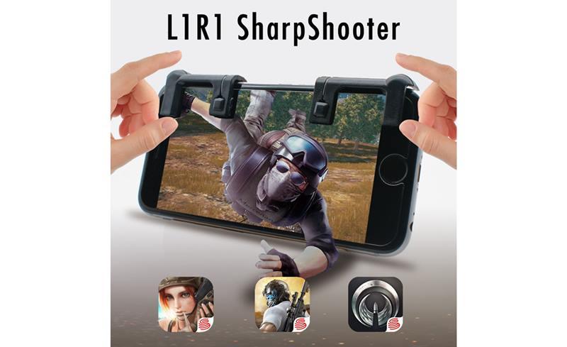 Controle Sharpshooter adiciona L1 e R1 ao seu smartphone