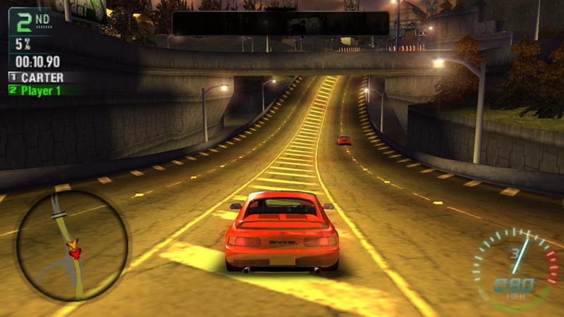 NFS-Carbon-Own-the-City-psp Os Jogos mais LEVES (e Compatíveis) para PPSSPP no Android