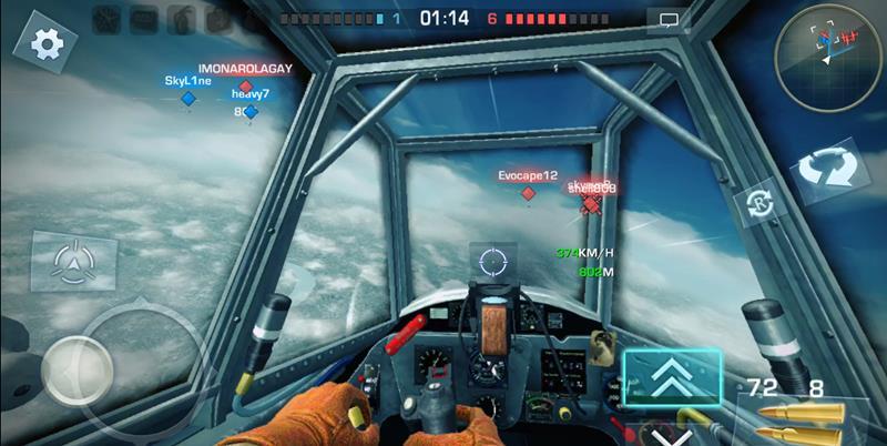 War-Wings-Cockpit-View-Gaming-Cypher 25 Melhores Jogos Grátis para iPhone e iPad de 2017 - Parte 2