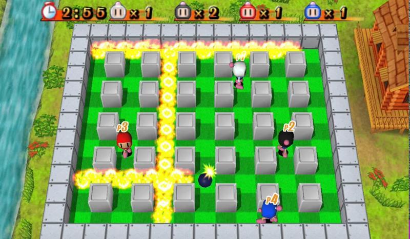 bomberman-psp-psp Os Jogos mais LEVES (e Compatíveis) para PPSSPP no Android