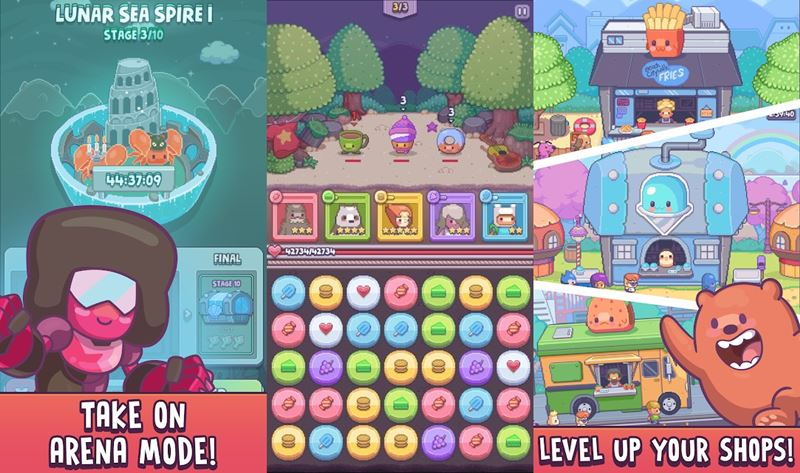 Cartoon-Network-Match-Land-android-iphone-2 Cartoon Network Match Land é novo game de combinar para Android e iOS