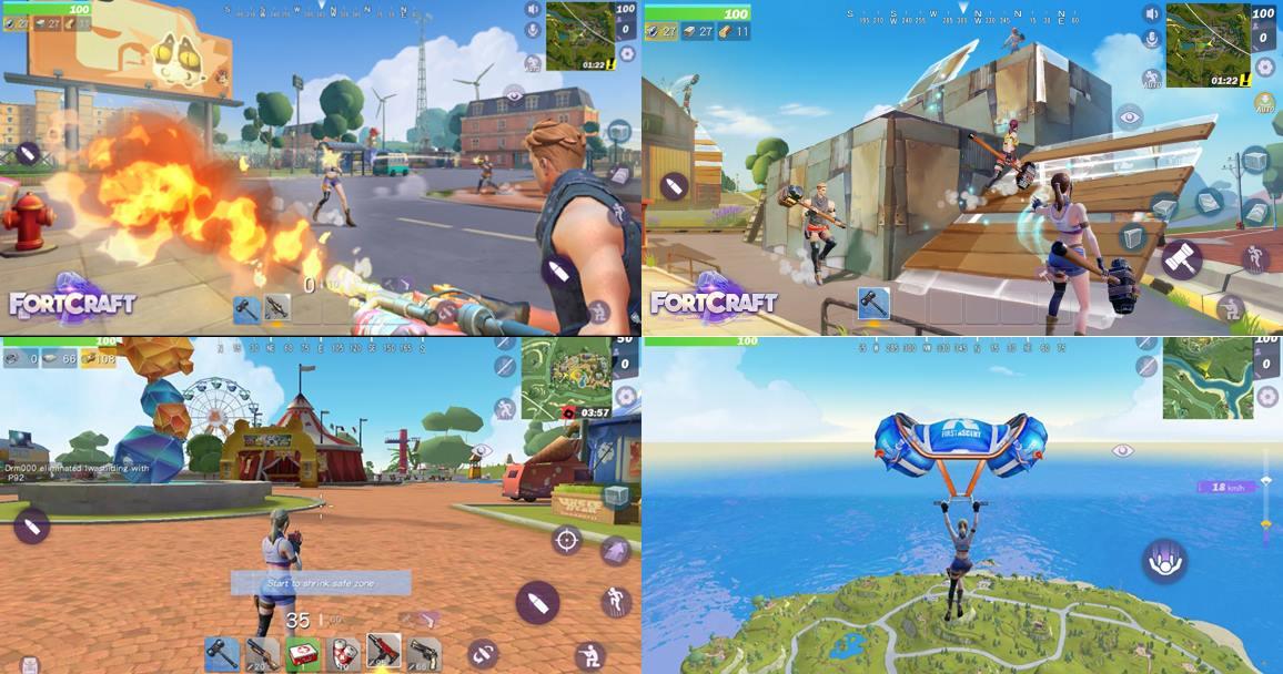 Battle Royale para mobile ganha primeiro trailer; confira — Fortnite