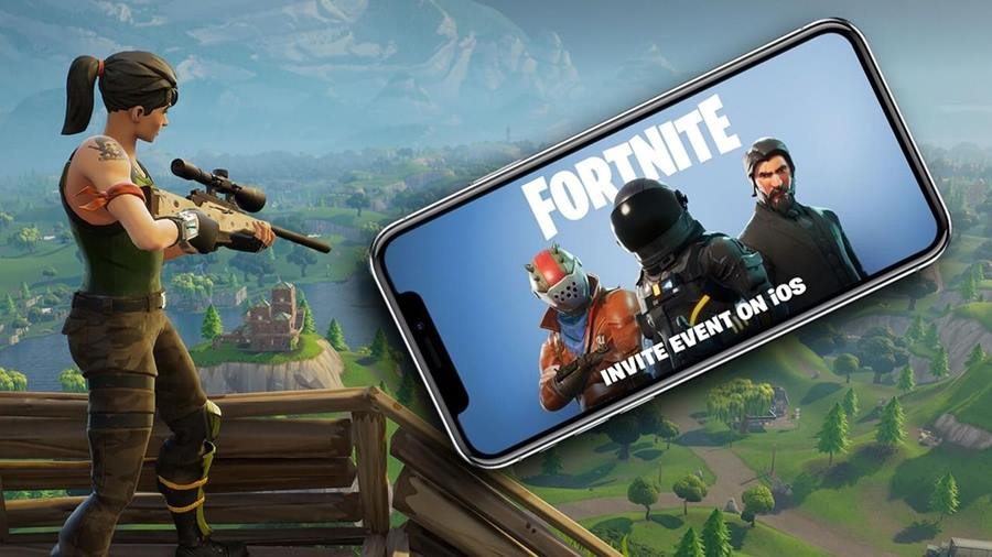 Fortnite-Mobile-iphone-2 Confira o gameplay impressionante de Fortnite no iPhone