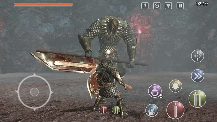 dark-souls-android-animus 100 Melhores Jogos OFFLINE para iOS (de todos os tempos)