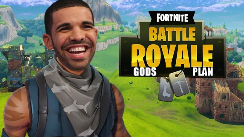 drake-no-fortnite Jogatina cross-plataform de Fortnite na Twitch reúne 551 mil pessoas assistindo