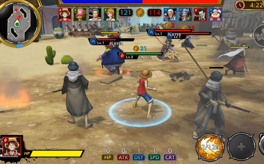 one-piece-bounty-rush-android One Piece: Bounty Rush é relançado no Android e iOS