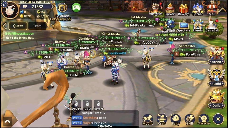 Dragon-Nest-M-characters 10 Melhores Jogos para Android Grátis - junho de 2018