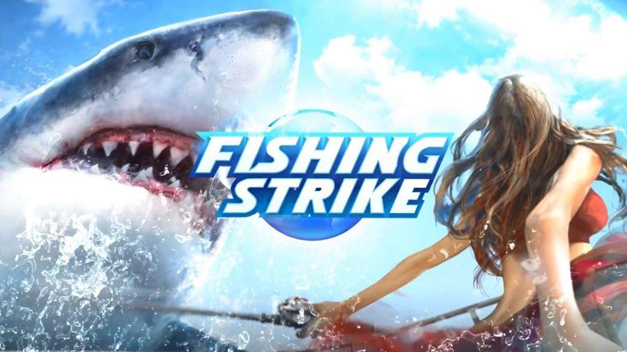Fishing-strike-android-ios Fishing Strike é um Jogo de Pesca com Tubarões Gigantes e Decotes