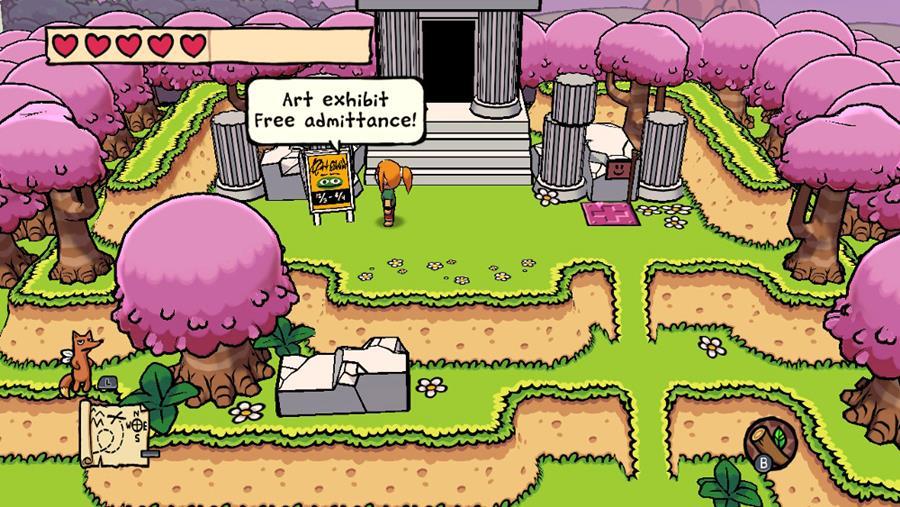 """Ittle-Dew-2-1 Ittle Dew 2: jogo inspirado em """"Zelda 2D"""" chega em breve no Android e iOS"""