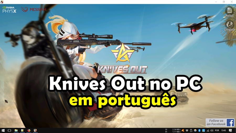 Knives-out-plus-pc-windows-como-baixar Como Baixar e Jogar Knives Out PC (em Português e Server NA)