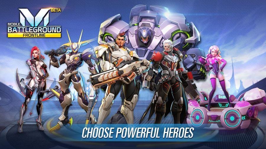 "Mobile-Battleground-Frontline-android-apk Mobile Battleground: Frontline se inspira em ""Overwatch"" (Jogos APK)"