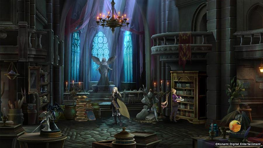 Konami anuncia Castlevania: Grimoire of Souls