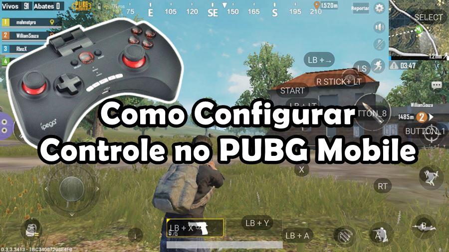 PUBG Mobile: como configurar controle Bluetooth ou USB