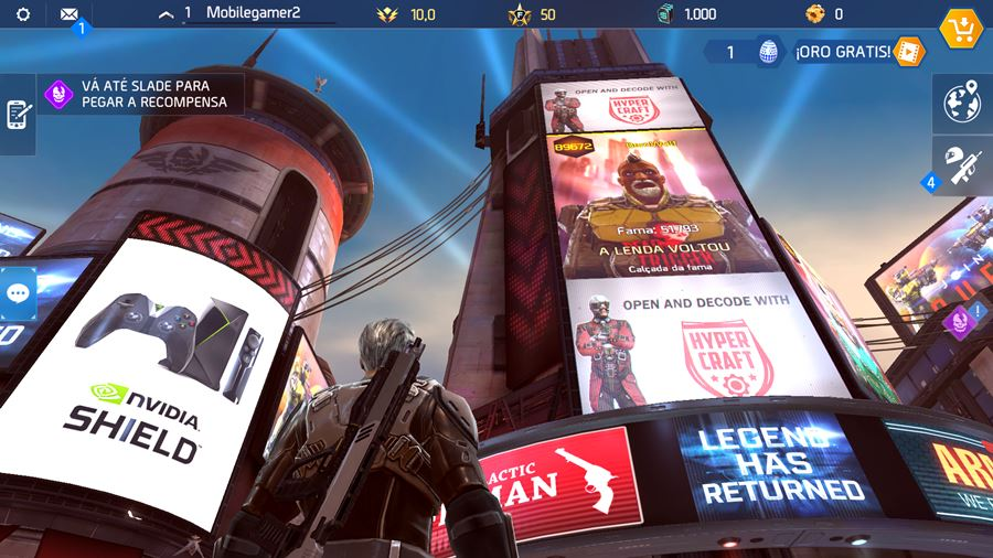 shadowgun-legends-cidadela Review: Shadowguns Legends (Android e iOS)