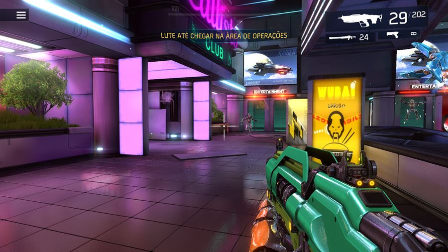 shadowgun-legends-interface-sem-botoes Review: Shadowguns Legends (Android e iOS)