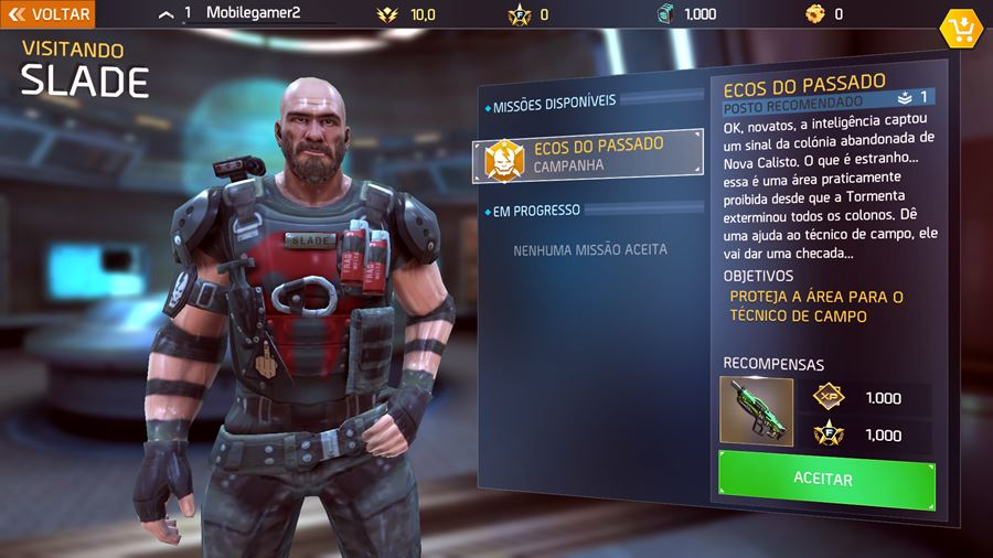 shadowgun-legends-slade Review: Shadowguns Legends (Android e iOS)