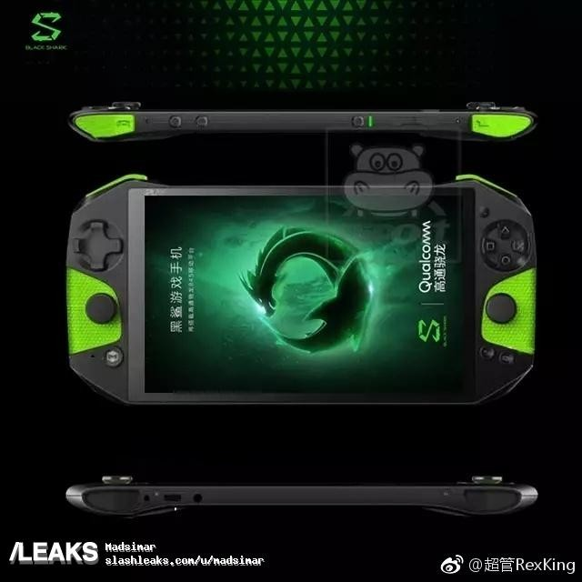 """smartphone-gamer-xiaomi-blackshark-1 Xiaomi Black Shark será o """"Xperia Play"""" da geração atual de smartphones"""