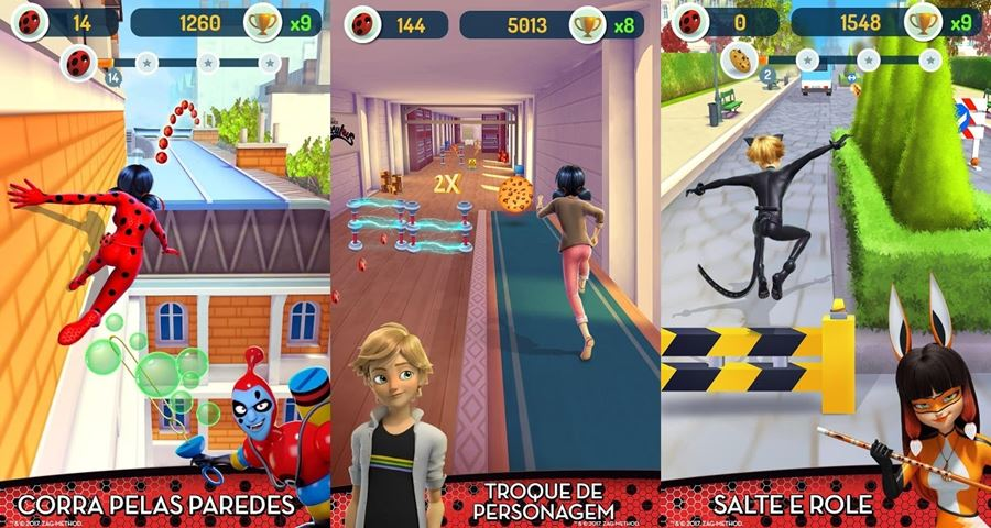 Miraculous-Ladybug Novos Jogos para Android na Google Play (semana 21 de 2018)