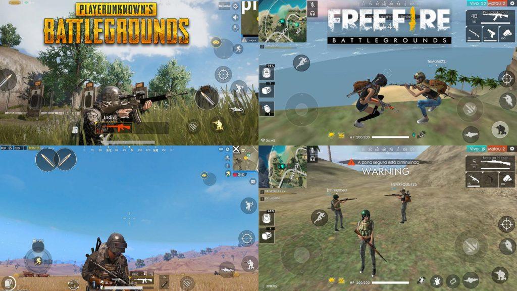 comparativo-graficos-pubg-mobile-free-fire-1024x576 Free Fire é melhor que PUBG Mobile? Entenda a polêmica!