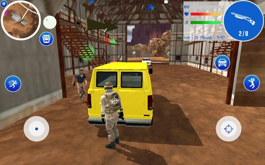 desert-battleground-jogo-offline-free-fire-2 Desert Battlegrounds é um jogo OFFLINE parecido com Free Fire
