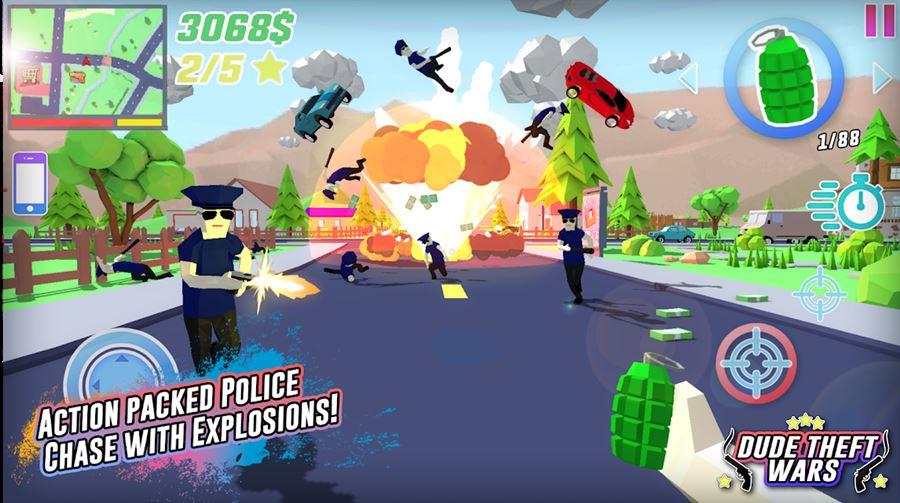 dude-the-wars Os 30 Melhores Jogos de Ação 3D OFFLINE para Android e iOS
