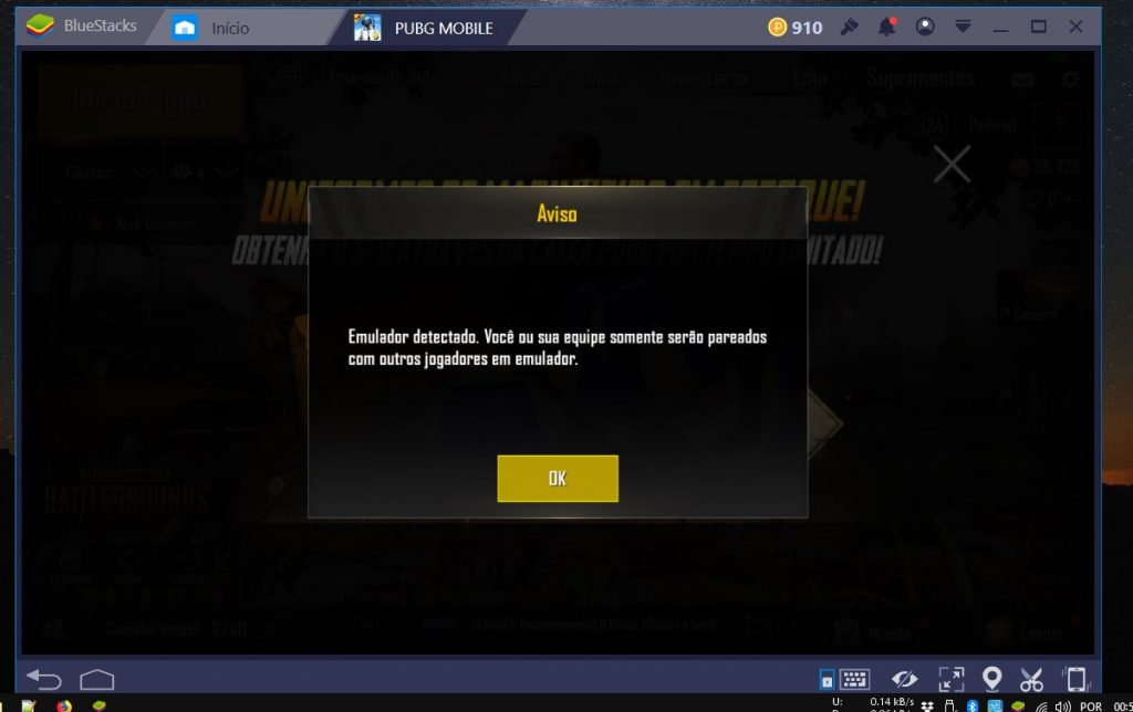 emulador-bluestacks-detectado-pela-tencent-pubg-mobile-1024x644 PUBG Mobile: a Tencent tá vendo o seu desespero no Bluestacks