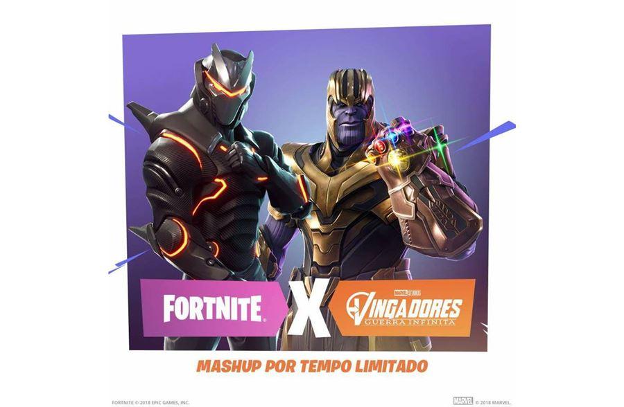 fortnite-marvel-guerra-infinita Fortnite: você pode virar o Thanos de Guerra Infinita em novo evento do game