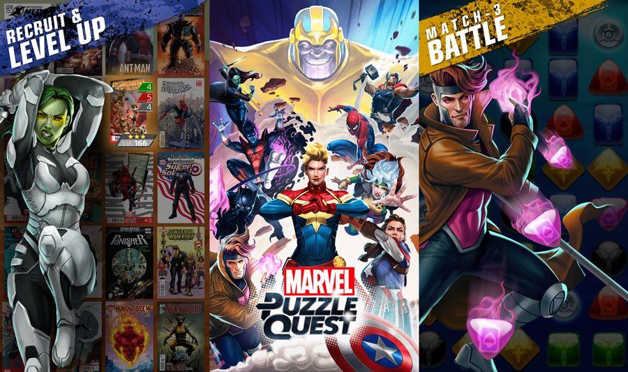 guerra-infinita-Marvel-Puzzle-Quest A Guerra Infinita dos Vingadores continua nos jogos para Android e iOS