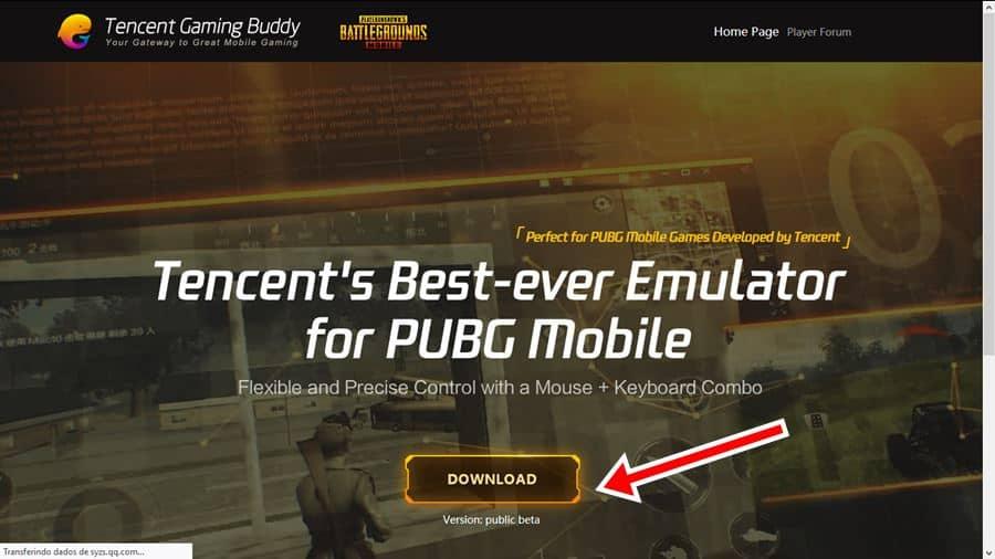 pubg-mobile-emulador-tencent-oficial-windows-10 Como baixar o Emulador da Tencent e rodar PUBG Mobile em PC FRACO