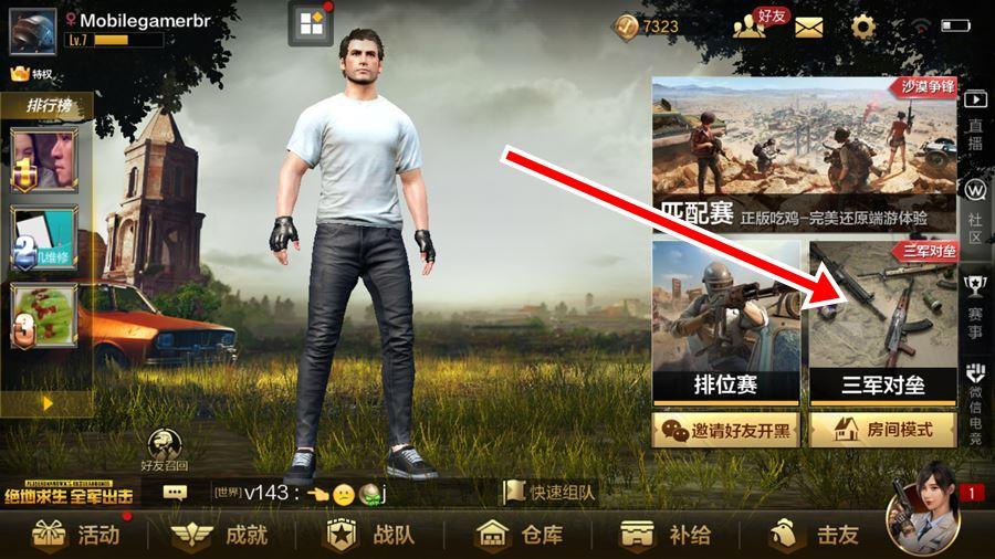 pubg-mobile-timi-modo-war PUBG Mobile (LightSpeed) ganha emotes e Timi recebe modo War